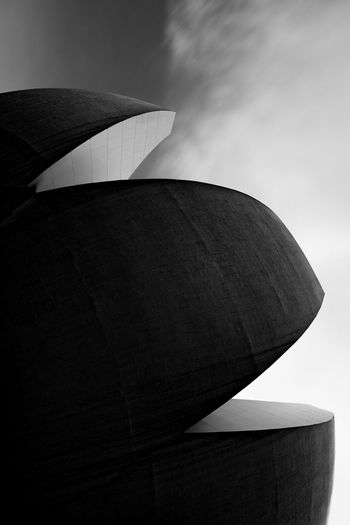Abstract Abstract Photography Architecture Astronomy Black And White Building Exterior Built Structure Curve Curves Day Fine Art Photography Futuristic Futuristic Infrared Long Exposure Low Angle View Marina Bay Sands No People Outdoors Shape Sky Texture