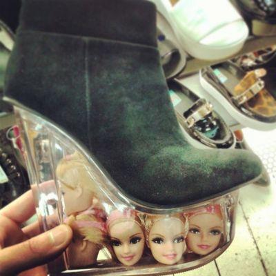 Heels Montreal, Canada Weird Barbie