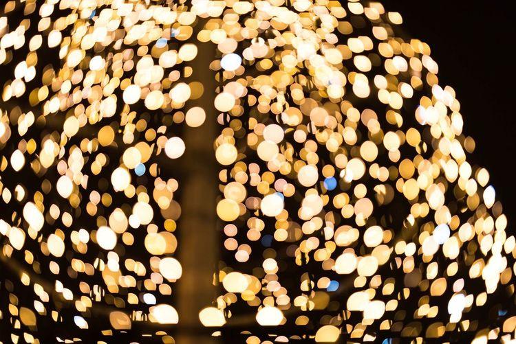 Glowing Weihnachtsmarkt Christmas Market Outdoors No People Electricity  Lighting Equipment Illuminated Advent Berlin Night Charlottenburg Palace Bokeh Bokeh Photography