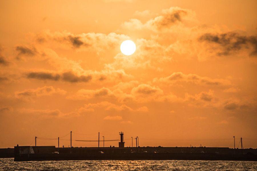 Shimane Izumo Magichour Memorial Silhouette Nature Sunset Inasa