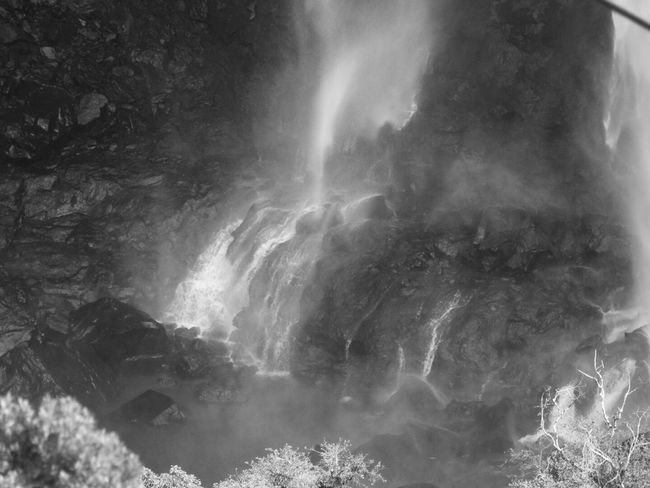 Gramado Black And White Photography B&w Photography Cachoeiras  Park Waterfall