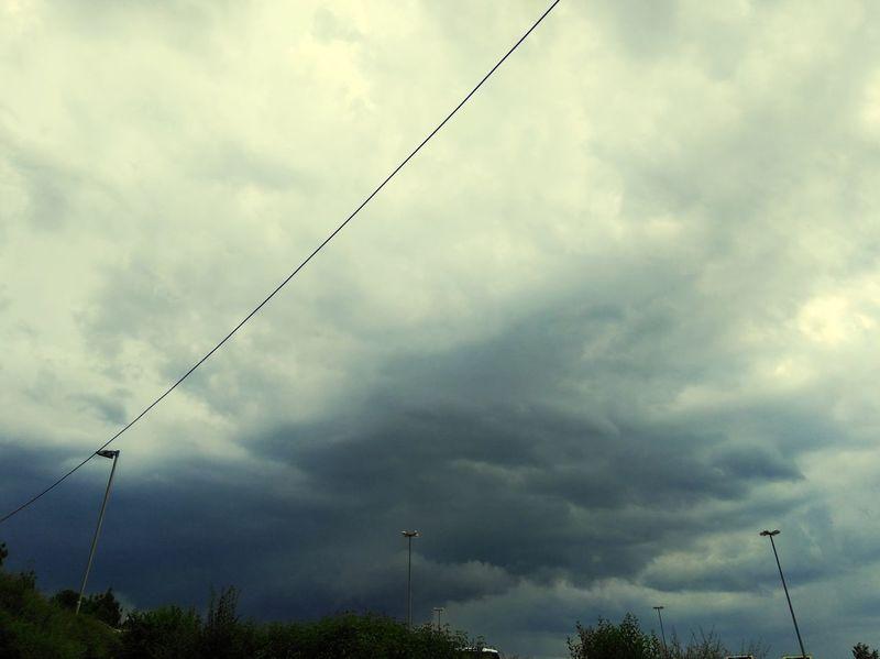 Cloud - Sky Danger No People Outdoors Storm Cloud Sky Nature Day Blue Nature Thunderstorm Thunder Donner Blitze Rain Regen BadDayToday Darkness Bad Weather