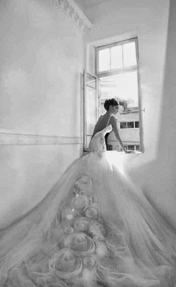 Fashionably Glamorous Future Wedding Dress