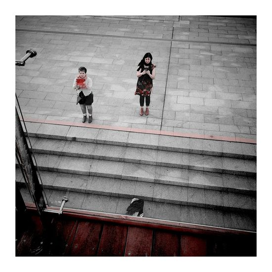 Abstract Art Shanghaiphotography Shanghai Photography Red Shanghai, China, Chinese, Asia Mobol Phone Red Color People Photography City Roadsidephotography Real People Outdoors Visiting