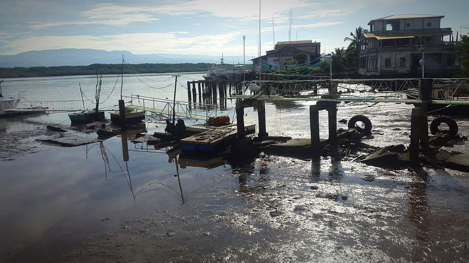 Port Lowtide  Puntarenas Costa Costa Rica Earth_Collections Traveling EyeEm Best Shots Eye4photography  EyeEm Gallery Photograph Rural SceneTravel Photography Fishing Port Fishing Anastasia Light And Reflection