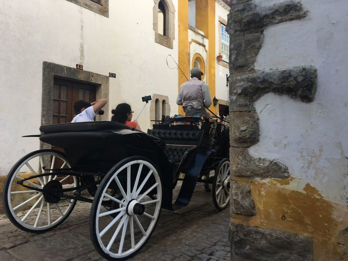 Obidos Portugal - tourists
