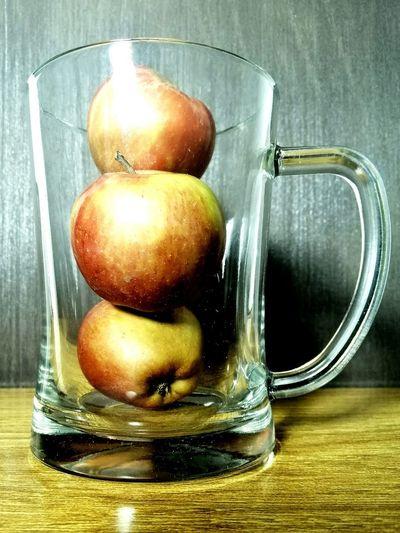 Apple Drinking