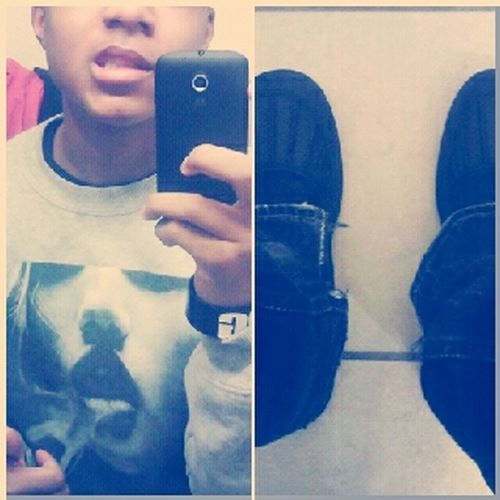 #OutFit #crewneck #ACGboots