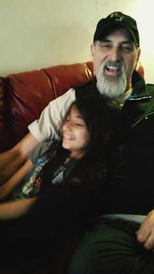 """The perfect example of """"Daddy's little girl"""", Everyday Joy"""