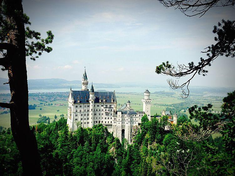 Schloss Neuschwanstein Awesome Amazing View Nature Castle Tower Mountains Königludwig House
