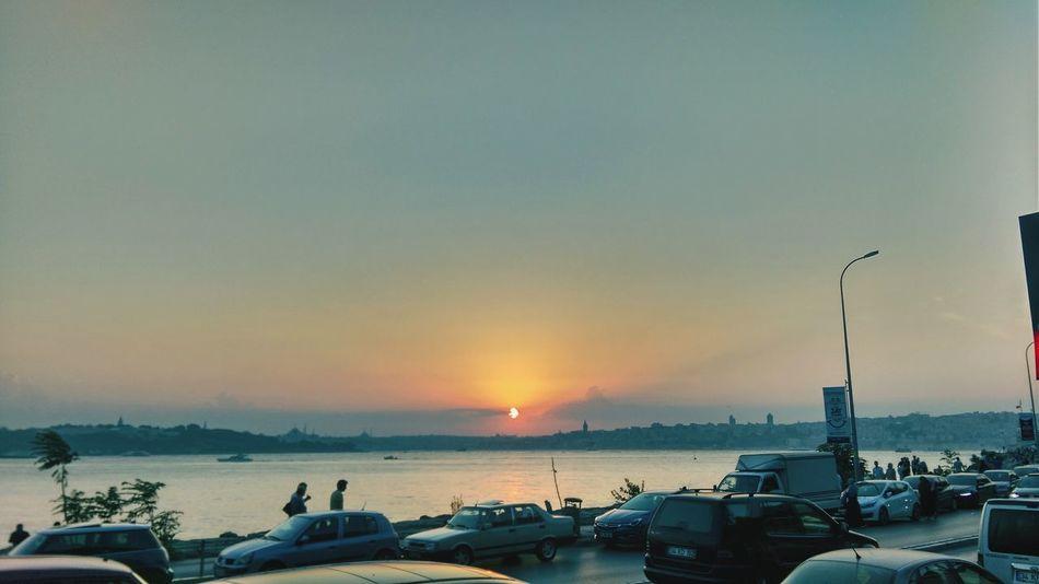 üsküdar Sahil ıstanbul, Turkey Gün Batımı 🌅