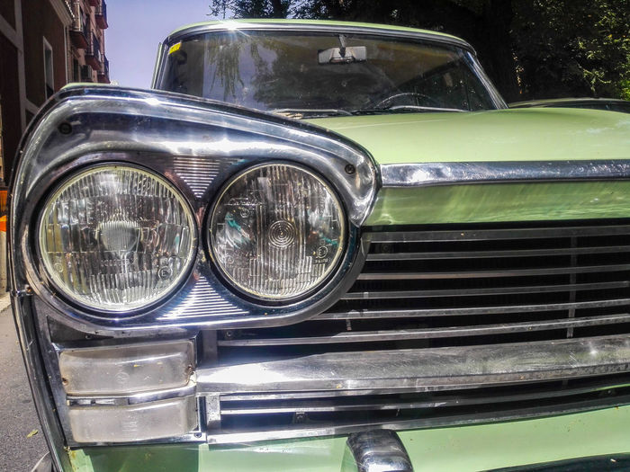 Seat 1500D Seat 1500 Vintage Old Cars Exposition Old Car Classic Car Transportation Close-up Headlight Car Selling On The Street Mode Of Transport