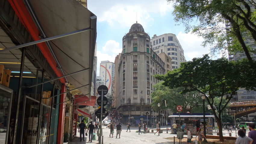 DOWNTOWN SAO PAULO BRAZIL MAIO 2016 Architecture Building Exterior Built Structure Capital Cities  Church City City Life Cityscapes Cloud Day EyeEm Team Façade Famous Place Leisure Activity Lifestyles Outdoors Place Of Worship Religion Sky Spirituality Tourism Travel Destinations Tree