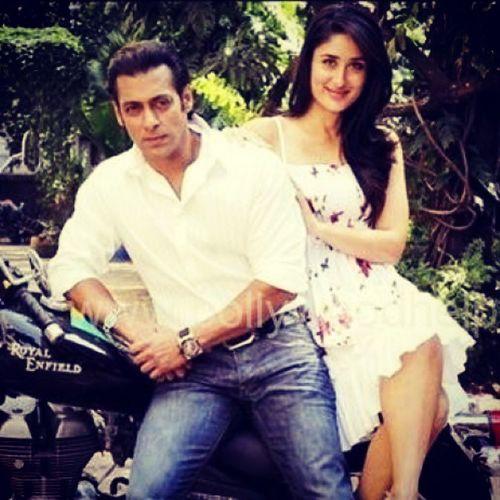 Sallu Bebo Salman and kareena.....new film bajrangi bhaijaan shoot starts from November♥♥♥♥♥