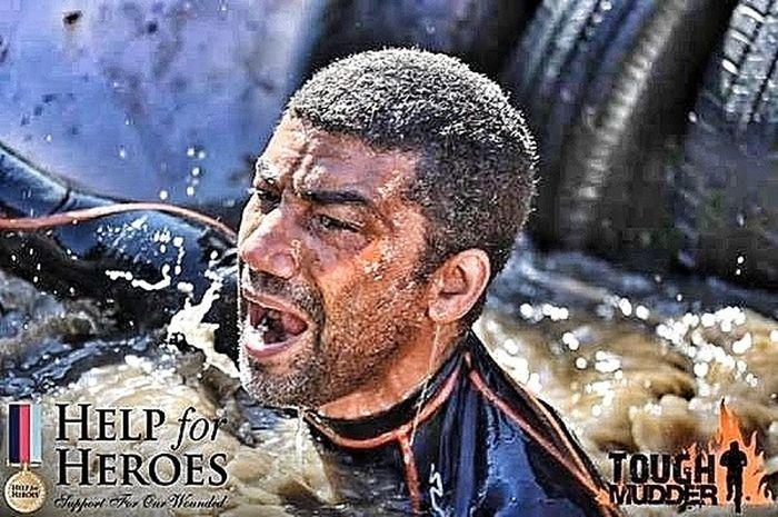 Help The Heroes Tough Mudder ThatsMe No Pain, No Gain