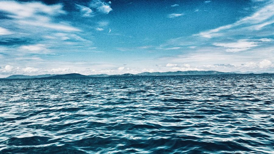 Itsmorefuninthephilippines Philippines EBMagalona Sky And Clouds Sea Sightseeing Water Beauty In Nature EyeEmNewHere