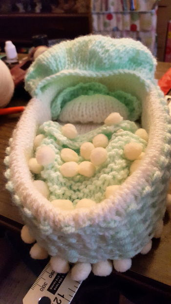Crib My Friend ❤ makes cribs for still - born babies Little Angels Crochet
