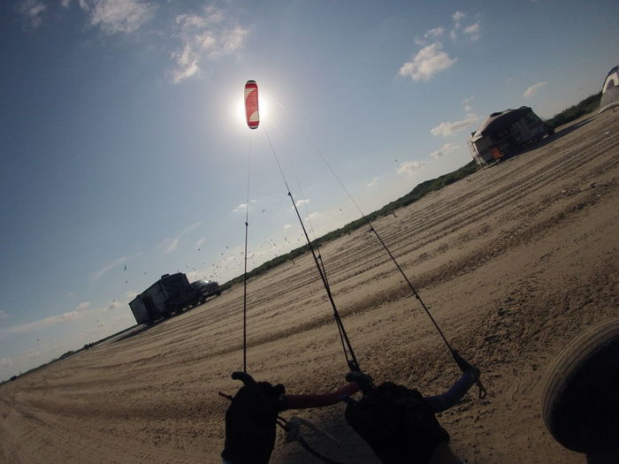 Kite Beach Cloud - Sky Kite Buggy Kite Surfing Land Kiting Power Kite Sky Sunlight