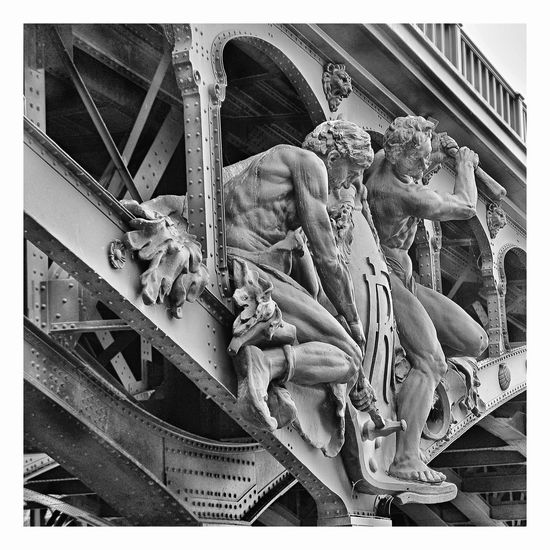 Paris, France  Piotr Adamczyk Photography Architecture Art And Craft Auto Post Production Filter Bone  Built Structure Carving - Craft Product Craft Creativity Day Female Likeness History Human Representation Male Likeness No People Outdoors Representation Sculpture Statue The Past Transfer Print