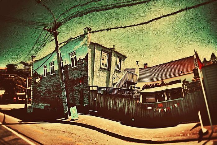 Island Bay Sky Wellington  New Zealand NEM Painterly AMPt_community WeAreJuxt.com