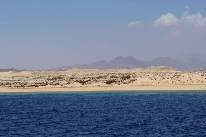 Egypt Ras Mohamed Egypt RedSea Beauty In Nature Blue Clear Sky Day Landscape Mountain Nature No People Outdoors Sand Scenics Sea Sinai Egypt Sky Tranquil Scene Tranquility View Into Land Water