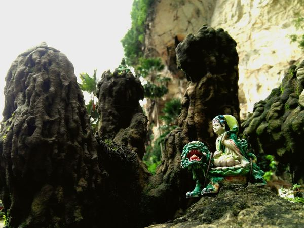 Nature Sculpture Statue Human Representation Art And Craft Tree Rock - Object No People Day Outdoors Cave Travel Destinations Nature Ancient Civilization Tample