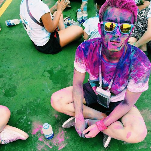 Color me rad 5k @Seoul First Eyeem Photo What Does Freedom Mean To You?