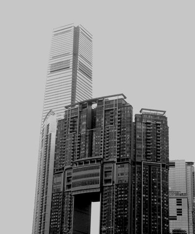Skyscraper in Hong Kong Travel Photography Hong Kong Skyscraper Blackandwhite Photography Cityscapes Enjoying Life The Architect - 2016 EyeEm Awards The Street Photographer - 2016 EyeEm Awards Great Outdoors With Adobe Original Experiences Adapted To The City