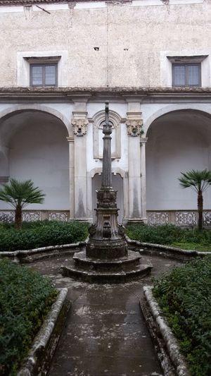 Certosa di San Lorenzo - Padula Italy Symmetrical