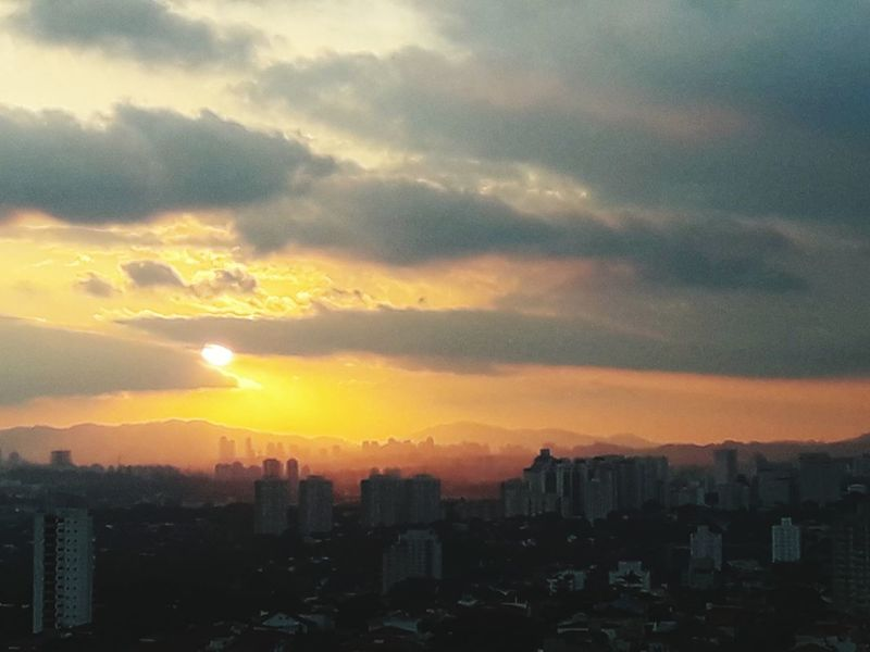 Sunset Cityscape Urban Skyline City Sky Sunday Sunset_captures Sunset And Clouds  Cloud - Sky No People Outdoors City Life SP Brasil ♥ Brazil Sao Paulo - Brazil Dramatic Sky Skyscraper Pordosol PôrDoSolPerfeito😍 Celo_teixeira
