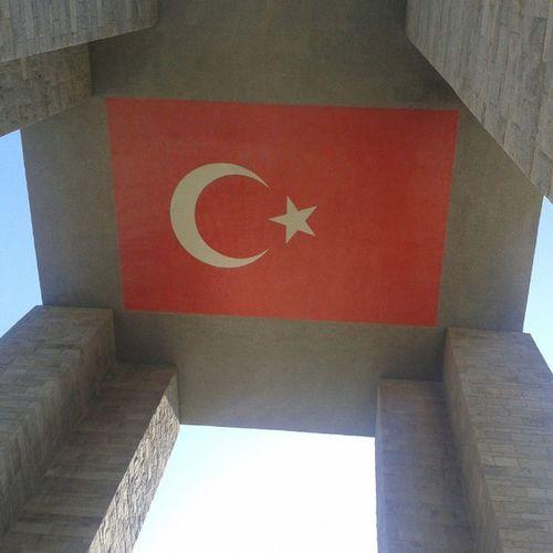 Sehitler Abidesi çanakkale Turk bayrağı ayyıldız