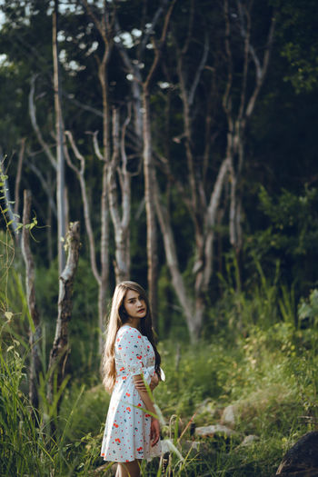 A Girl Portrait @ Forest ASIA Dark Green Green Green!  Life Natural Nature Photography Nikon Plant Part Portrait Of A Woman Thailand Asian Girl Blue Water Forest Forest Photography Girl Lifestyles Long Hair Nikonphotography People Portrait Portrait Of A Girl Portrait Photography Summer Water Women