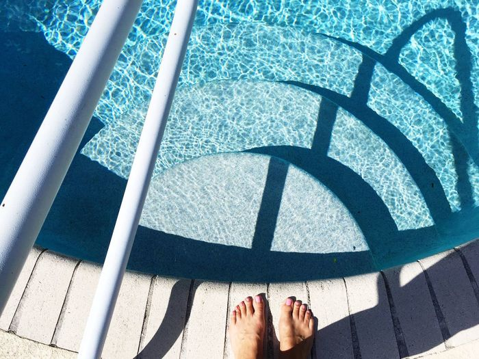 Pool side Feet Pool Summer Steps Shadows & Lights EyeEmNewHere EyeEmNewHere EyeEm Selects The Week On EyeEm The Week On EyeEm