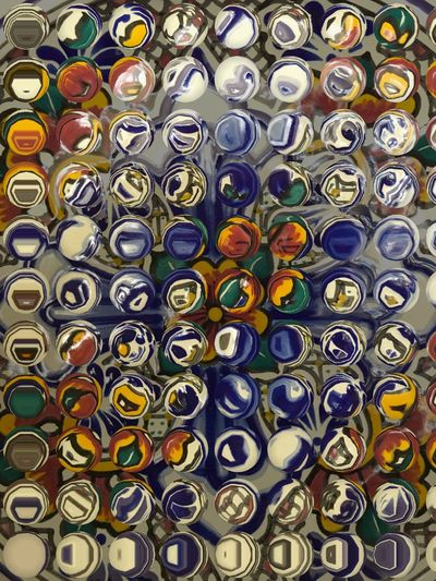 Abstract Art Iphonephotography Colorsplash Icolorama_s Pottery Talavera colorful Blue Color circles