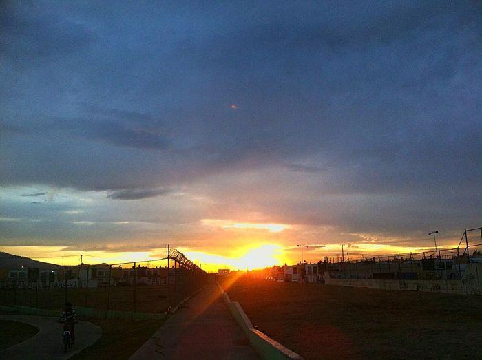 Dramatic Sky Landscape Sunbeamwalk Clouds Horizon The Week On EyeEm Brown Eyes Way Back Home