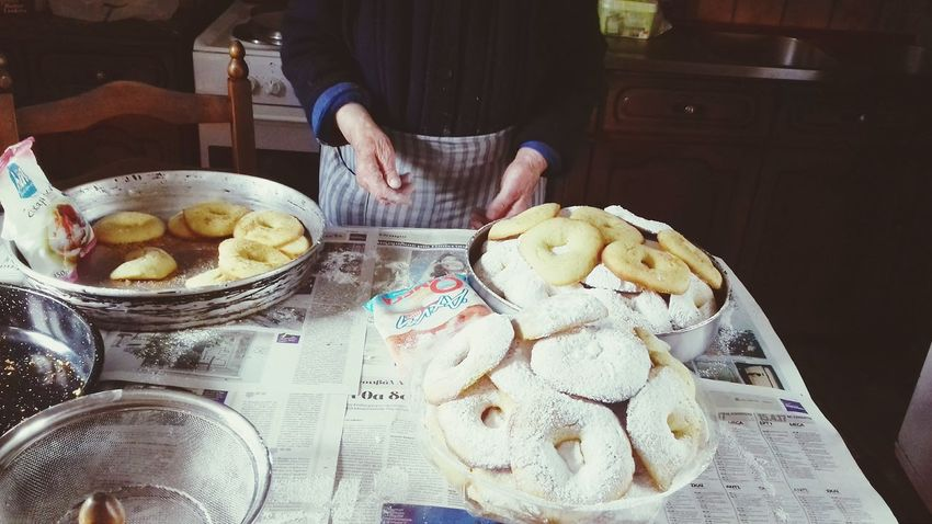 Human Body Part Human Hand Food And Drink Indoors  Day Easter Easter Traditions Grandma's Cooking Biscuits Greek Easter Sweets Greek Easter April 2017 Check This Out Taking Photos Cultures Food Photography Family πασχα Grandmother Cooking Baking At Home Cookies Hello World Hey There :) Happy Easter <3 Place Of Heart