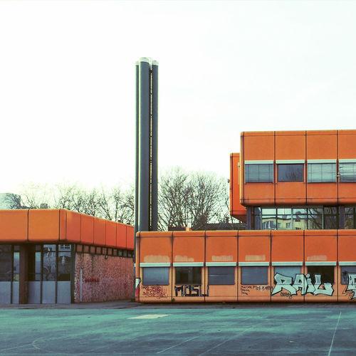 Architecture Structuralism Futurism Pop Postmodernism Orange Wedding Seventies School The Architect - 2015 EyeEm Awards
