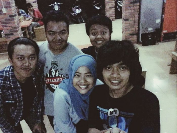 With friends Friend Goodlife INDONESIA
