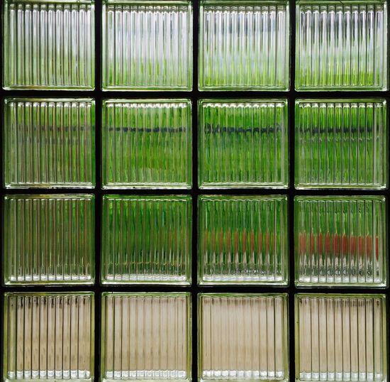 Full frame shot of tiled glass
