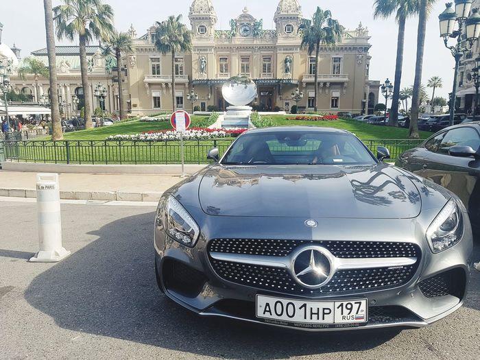 Car Architecture EyeEmNewHere Mercedes SLS AMG Monaco Montecarlo Casino Monte Carlo