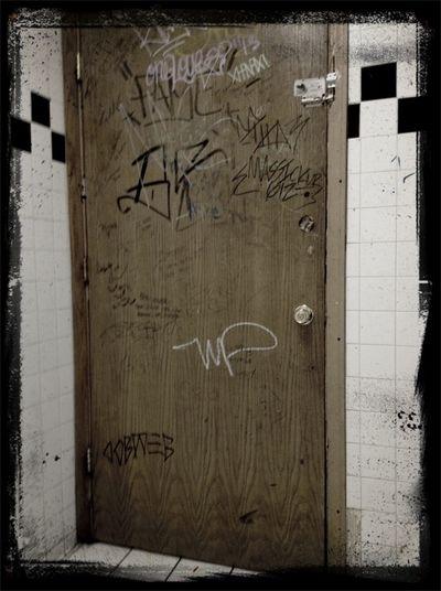 This Door Has Been Through Alot Ha