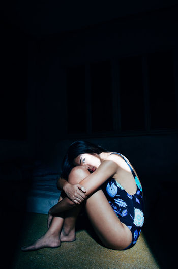 https://instagram.com/joedbarallas Tranquility Sunlight Conceptual Dark Sunlight And Shadow Darkness And Light Portrait Showcase April Women Young Adult Asian Girl Eyeem Philippines