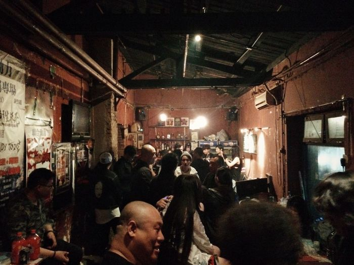 The final party in Mao live house Mao Live House Beijing Metalhead Alternative Music Beijing By Night Night Life Underground Life Underground Music Rocker Metal Filthyfacades Alternative Bar Filthyfeeds Crowd People China The Photojournalist - 2016 EyeEm Awards