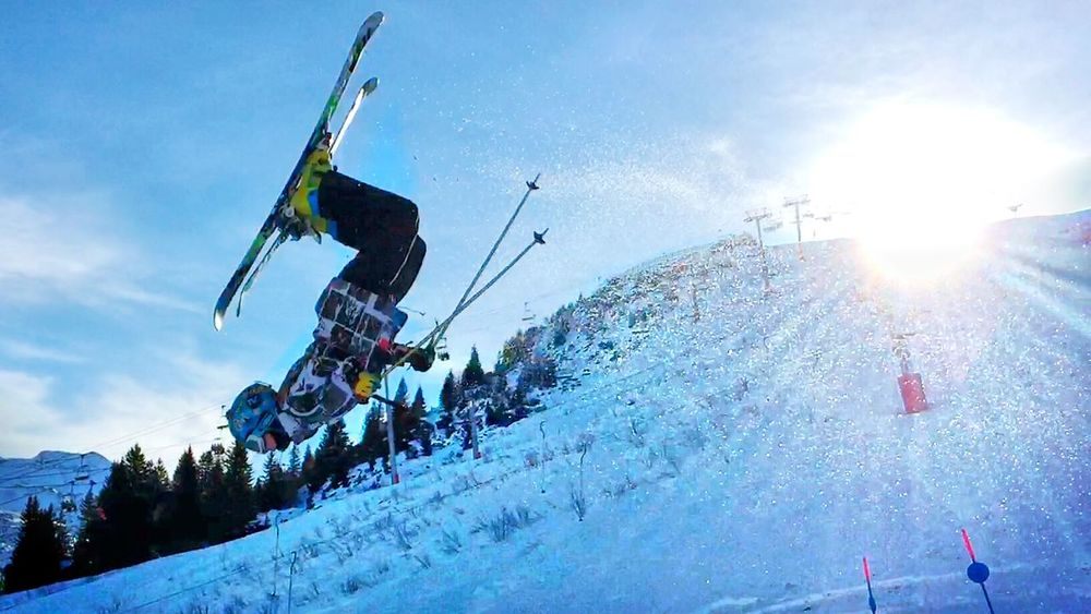 Thomas Freestyle Skiing Freeride Avoriaz Its Cold Outside Capture The Moment EyeEm Best Shots EyeEmBestPics