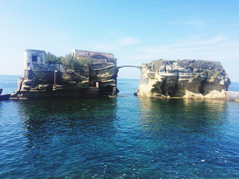 Naples Gaiola  Sea Water Day Nature Posilipo
