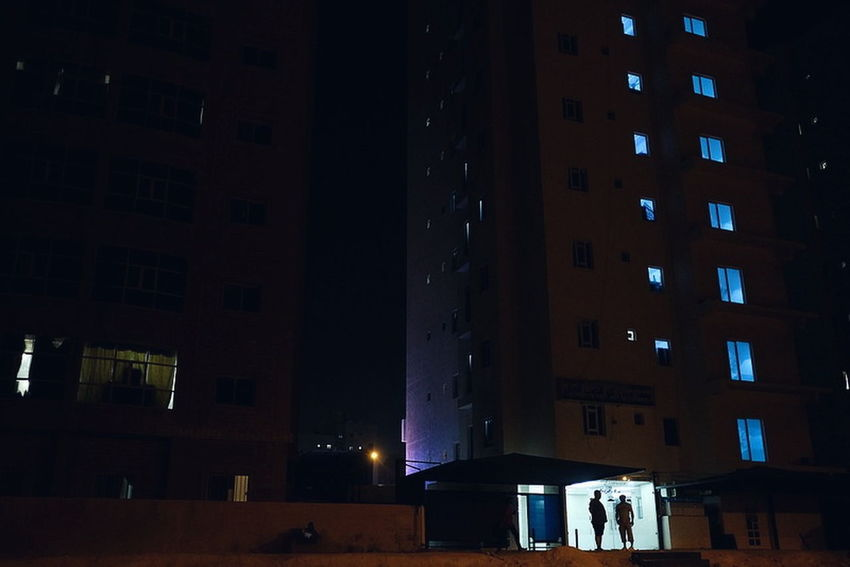 Night City Illuminated People Architecture Built Structure Lifestyles Large Group Of People Nightlife Real People Adult Indoors  Adults Only Building Exterior Ice Rink Cityscape Politics And Government Only Men Young Adult Yoonjeongvin EyeEm Ready   Kuwait Streetphotography Kuwaitstreetphotography HUAWEI Photo Award: After Dark