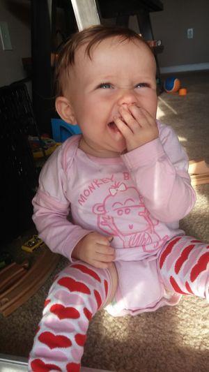 Giggling Grandbaby Love Baby Baby Baby girl