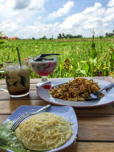 Goodfood Lovelyplace Lovelyview Pancake Friednoddle Dalungice Bananapalubutungice Allonlyfourthythousand Food