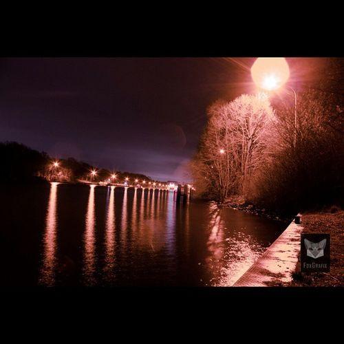 Lichtreflektion / Light reflection Langzeitbelichtung Water Lichtreflektion Vechelade Lightreflection Lightreflections Natur Naturephotography Bulbexposure