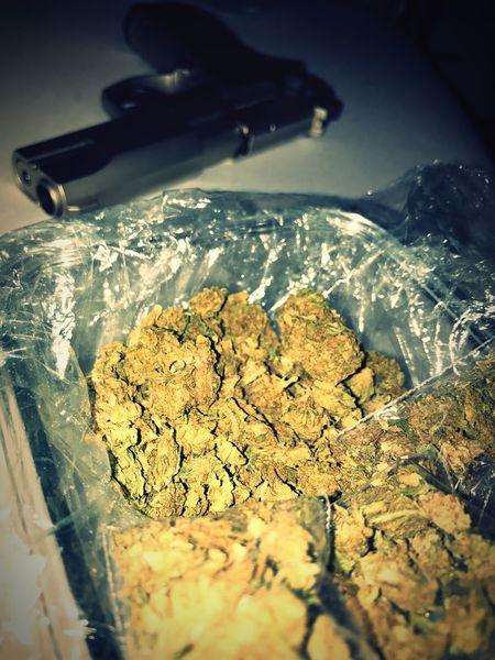 Criminal Minded. Indoors  Criminal Criminals 9mm Weed Cannabis Pistol Kriminell Freshness